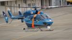 kuhさんが、花巻空港で撮影した千葉県警察 BK117C-1の航空フォト(写真)