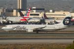 よっしぃさんが、ロサンゼルス国際空港で撮影したアラスカ航空 737-990/ERの航空フォト(写真)
