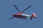pringlesさんが、長崎空港で撮影した長崎県防災航空隊 AS365N3 Dauphin 2の航空フォト(写真)