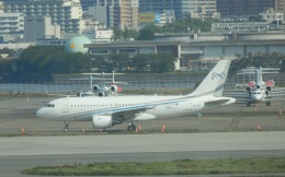 TUILANYAKSUさんが、羽田空港で撮影したコムラックス・マルタ A319-115CJの航空フォト(飛行機 写真・画像)