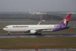 セブンさんが、新千歳空港で撮影したハワイアン航空 767-33A/ERの航空フォト(飛行機 写真・画像)