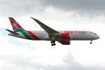 PASSENGERさんが、ロンドン・ヒースロー空港で撮影したケニア航空 787-8 Dreamlinerの航空フォト(写真)