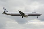 PASSENGERさんが、ロンドン・ヒースロー空港で撮影したエーゲ航空 A321-231の航空フォト(写真)
