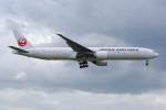PASSENGERさんが、ロンドン・ヒースロー空港で撮影した日本航空 777-346/ERの航空フォト(写真)