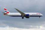 PASSENGERさんが、ロンドン・ヒースロー空港で撮影したブリティッシュ・エアウェイズ 787-9の航空フォト(写真)