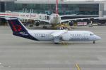 PASSENGERさんが、ロンドン・ヒースロー空港で撮影したブリュッセル航空 Avro 146-RJ100の航空フォト(写真)