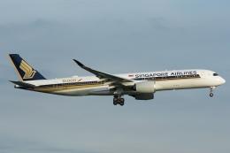 RUSSIANSKIさんが、シンガポール・チャンギ国際空港で撮影したシンガポール航空 A350-941の航空フォト(飛行機 写真・画像)