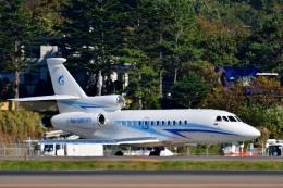 Dojalanaさんが、函館空港で撮影したガスプロムアビア Falcon 900の航空フォト(飛行機 写真・画像)