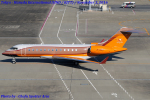 Chofu Spotter Ariaさんが、羽田空港で撮影したイギリス個人所有 BD-700-1A10 Global Expressの航空フォト(飛行機 写真・画像)