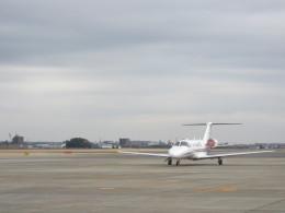 kamonhasiさんが、名古屋飛行場で撮影したオートパンサー 525A Citation CJ2の航空フォト(飛行機 写真・画像)