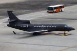 あしゅーさんが、羽田空港で撮影したExecuJet スカンジナビア Falcon 7Xの航空フォト(飛行機 写真・画像)