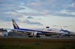 ひめまどんなさんが、松山空港で撮影した全日空 777-281/ERの航空フォト(飛行機 写真・画像)