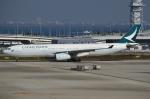 Wings Flapさんが、関西国際空港で撮影したキャセイパシフィック航空 A330-343Xの航空フォト(写真)