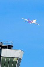 まいけるさんが、スワンナプーム国際空港で撮影したタイ国際航空 A380-841の航空フォト(写真)