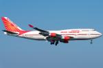 pinama9873さんが、関西国際空港で撮影したエア・インディア 747-437の航空フォト(写真)
