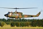 パンダさんが、入間飛行場で撮影した陸上自衛隊 UH-1Jの航空フォト(写真)