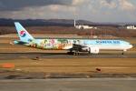 北の熊さんが、新千歳空港で撮影した大韓航空 777-3B5/ERの航空フォト(写真)