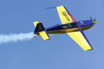 サボリーマンさんが、松山空港で撮影したWPコンペティション・アエロバティック・チーム EA-300Lの航空フォト(飛行機 写真・画像)
