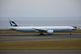 きったんさんが、中部国際空港で撮影したキャセイパシフィック航空 777-367/ERの航空フォト(写真)
