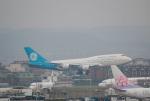 takaRJNSさんが、台湾桃園国際空港で撮影したゼネラル・エレクトリック 747-446の航空フォト(写真)