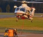 marimariさんが、花巻空港で撮影した岩手県防災航空隊 AW139の航空フォト(写真)