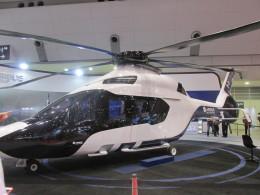 kamonhasiさんが、東京ビックサイトで撮影したエアバス・ヘリコプターズ H160の航空フォト(飛行機 写真・画像)