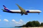 RUSSIANSKIさんが、プーケット国際空港で撮影したアエロフロート・ロシア航空 777-3M0/ERの航空フォト(飛行機 写真・画像)