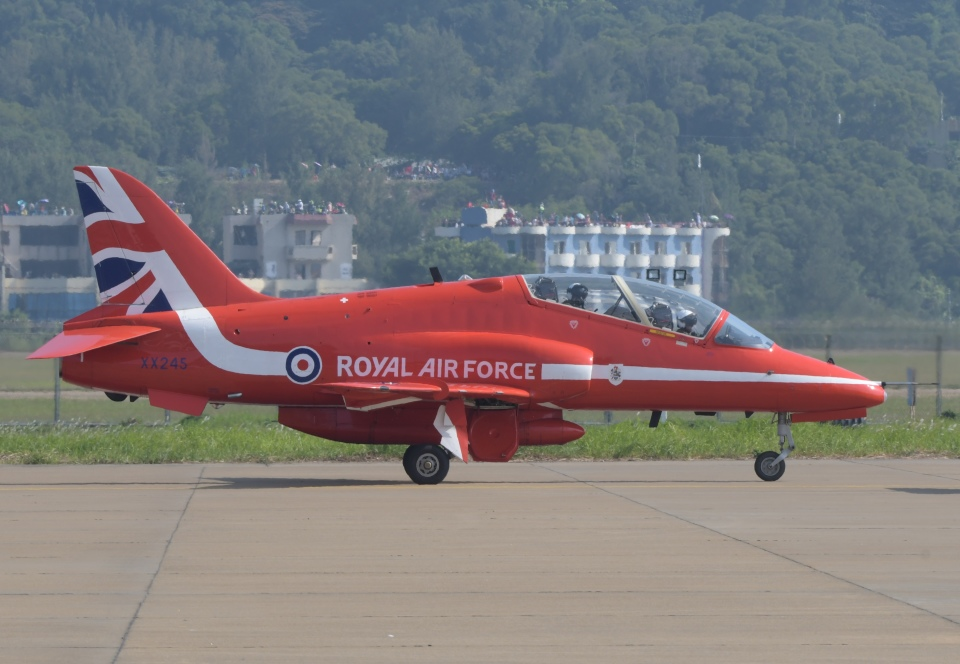justice2002さんのイギリス空軍 BAe Hawk (XX245) 航空フォト