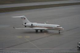 みっちゃんさんが、ケルン・ボン空港で撮影したドイツ空軍 BD-700-1A11 Global 5000の航空フォト(飛行機 写真・画像)