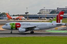 k-spotterさんが、リスボン・ウンベルト・デルガード空港で撮影したTAPポルトガル航空 A319-111の航空フォト(飛行機 写真・画像)