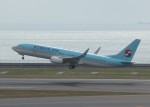 TRdenさんが、中部国際空港で撮影した大韓航空 737-8Q8の航空フォト(写真)