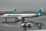 tsubasa0624さんが、静岡空港で撮影したエアソウル A321-231の航空フォト(飛行機 写真・画像)
