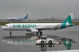 tsubasa0624さんが、静岡空港で撮影したエアソウル A321-231の航空フォト(写真)