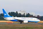 パンダさんが、成田国際空港で撮影した厦門航空 737-75Cの航空フォト(写真)