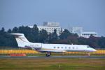 パンダさんが、成田国際空港で撮影したメトロジェット G-V-SP Gulfstream G550の航空フォト(写真)