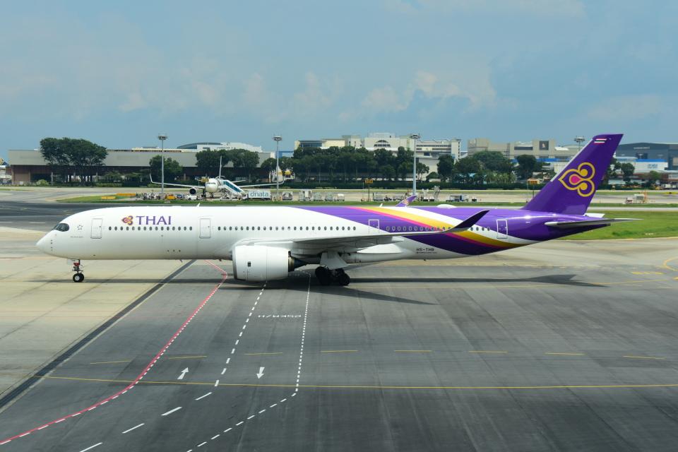 RUSSIANSKIさんのタイ国際航空 Airbus A350-900 (HS-THB) 航空フォト