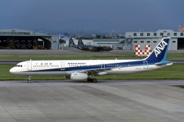 Gambardierさんが、名古屋飛行場で撮影した全日空 A321-131の航空フォト(飛行機 写真・画像)