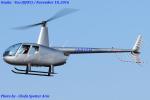 Chofu Spotter Ariaさんが、八尾空港で撮影した賛栄商事 R44 Raven IIの航空フォト(飛行機 写真・画像)