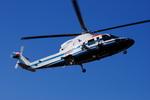 へりさんが、東京ヘリポートで撮影した朝日航洋 S-76Cの航空フォト(写真)