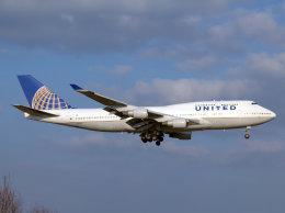 Mame @ TYOさんが、成田国際空港で撮影したユナイテッド航空 747-422の航空フォト(飛行機 写真・画像)