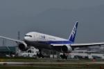 ひめまどんなさんが、松山空港で撮影した全日空 777-281の航空フォト(飛行機 写真・画像)