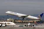 LAX Spotterさんが、ロサンゼルス国際空港で撮影したユナイテッド航空 767-424/ERの航空フォト(写真)