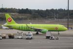チャッピー・シミズさんが、成田国際空港で撮影したS7航空 A320-214の航空フォト(写真)