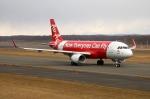 北の熊さんが、新千歳空港で撮影したエアアジア・ジャパン A320-216の航空フォト(写真)