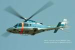 かみきりむしさんが、名古屋飛行場で撮影した奈良県警察 A109E Powerの航空フォト(写真)