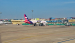 tsubasa0624さんが、プノンペン国際空港で撮影したバッサカ・エア A320-214の航空フォト(写真)