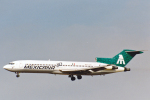 菊池 正人さんが、ロサンゼルス国際空港で撮影したメキシカーナ航空 727-200の航空フォト(写真)