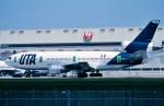 トロピカルさんが、成田国際空港で撮影したUTA DC-10-30の航空フォト(写真)