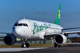 パンダさんが、茨城空港で撮影した春秋航空 A320-214の航空フォト(飛行機 写真・画像)