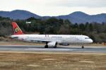 Gambardierさんが、岡山空港で撮影したトランスアジア航空 A321-131の航空フォト(写真)